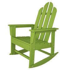 POLYWOOD® Long Island Collection Long Island Rocker - Vibrant Lime