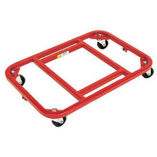 Steel Frame Royal Red Dolly with Vinyl Finish