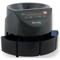C100 Electronic Coin Counter and Sorter - 250 Coins/Minute