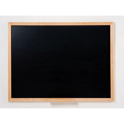 110 Series Chalkboard with Wood Frame - 36