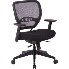 Space Air Grid Back and Mesh Seat Office Chair with Seat Slider