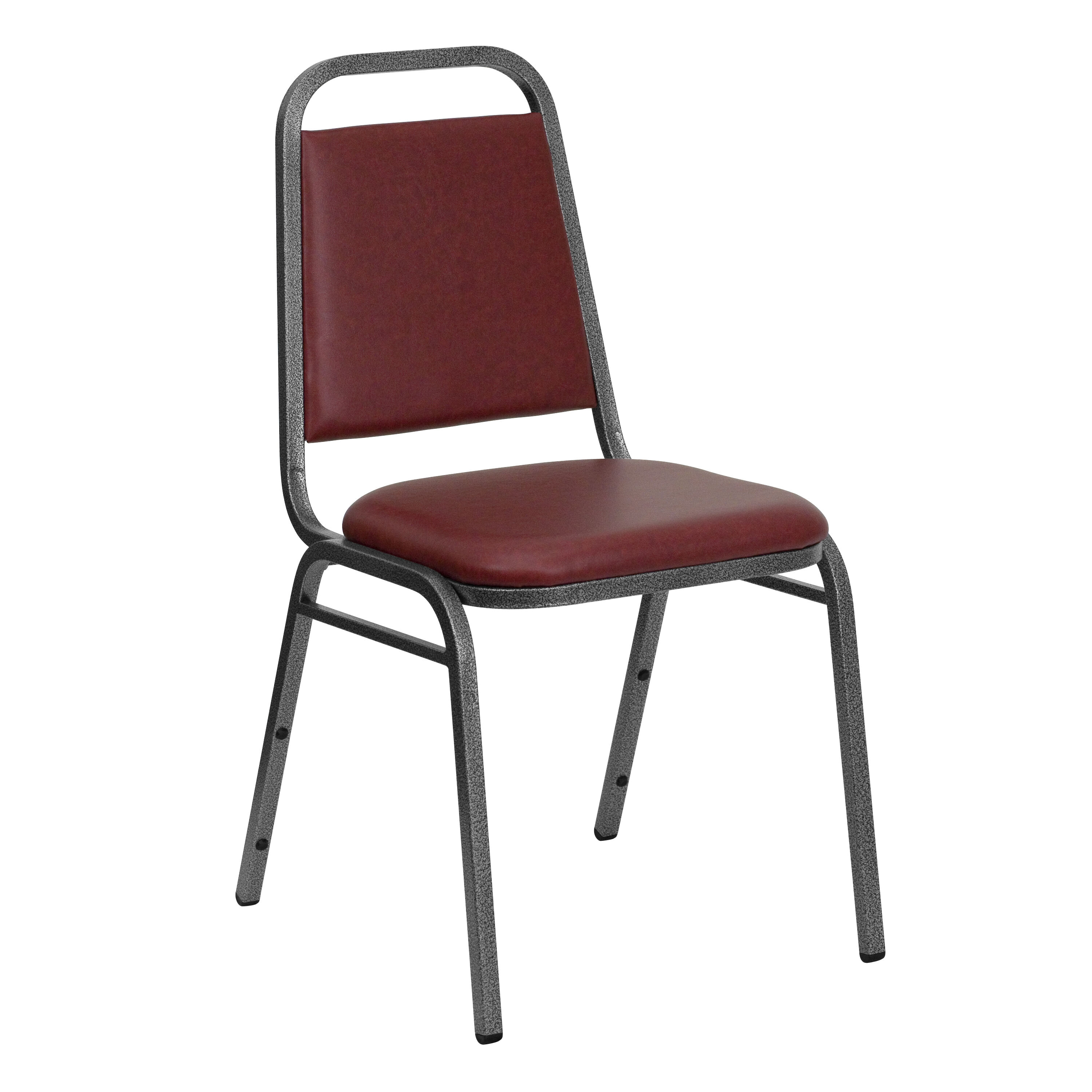 HERCULES Series Trapezoidal Back Stacking Banquet Chair in Burgundy Vinyl - Silver Vein Frame  sc 1 st  Restaurant Furniture 4 Less & RestaurantFurniture4Less: Restaurant Banquet Chairs