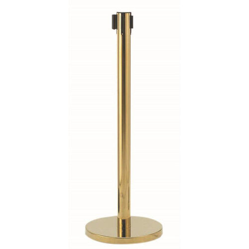 Form-A-Line Retractable Belt - Brass Finish