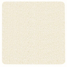 Frameless Burlap Weave Vinyl Display Panel with Radius Corners - White Rice - 48