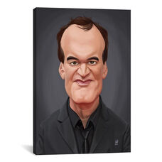 Celebrity Sunday Series: Quentin Tarantino by Rob Snow Gallery Wrapped Canvas Artwork