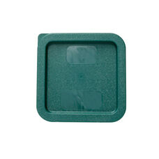 Plastic Square Lid in Green