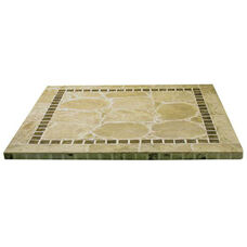 Atcostone Square Indoor Table Top - Sand Beige