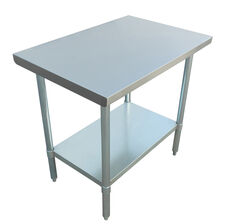 "Adcraft WT-3048-E 30""x48"" Stainless Steel Work Table"
