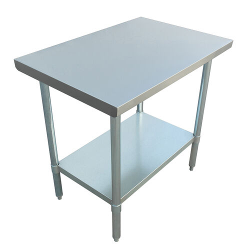 """Adcraft WT-3048-E 30""""x48"""" Stainless Steel Work Table"""