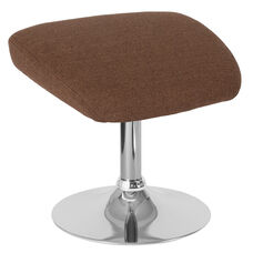 Egg Series Brown Fabric Ottoman