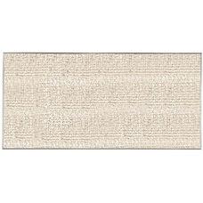 Burlap Weave Vinyl Bulletin Board with Aluminum Clear Satin Anodized Frame - Cement - 48