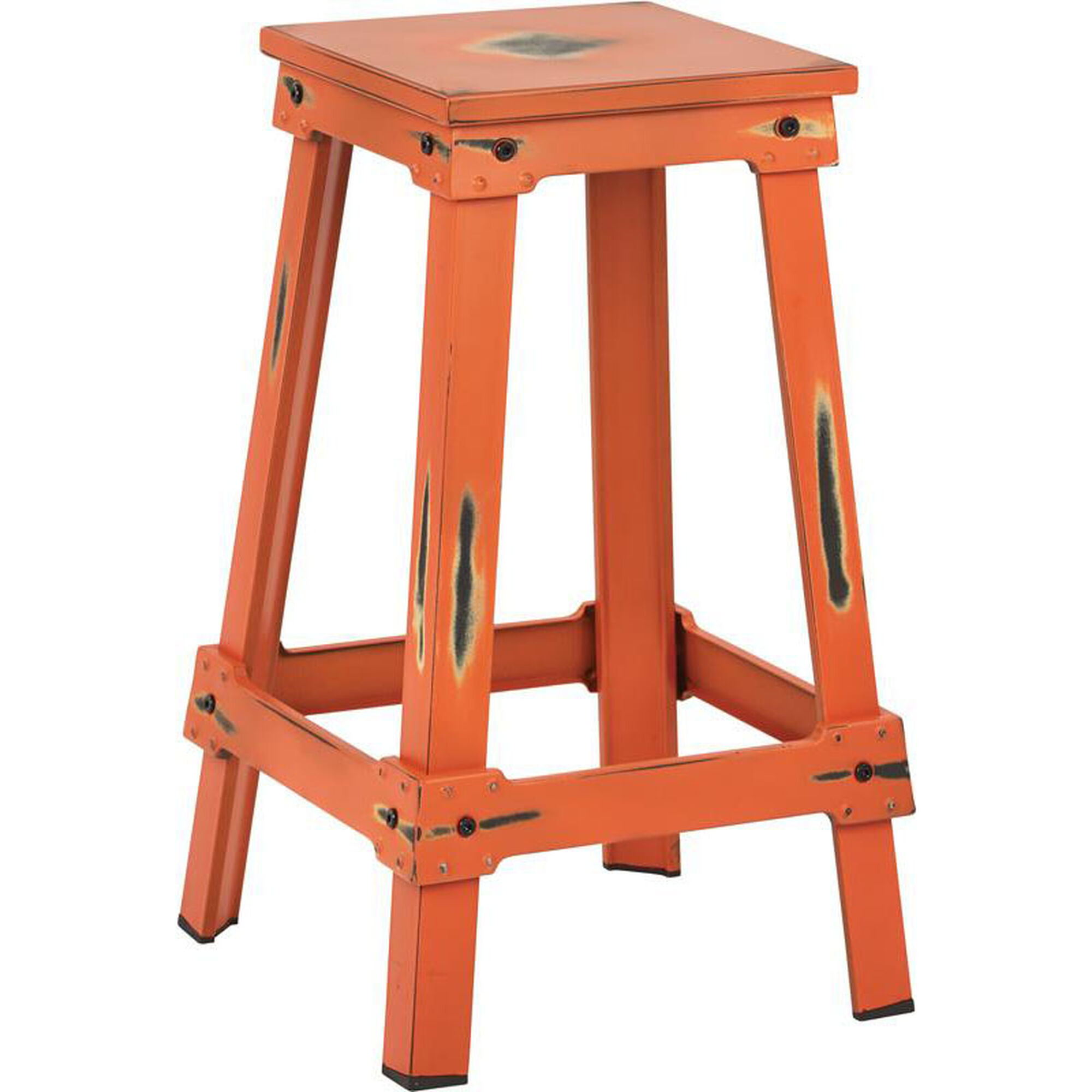 New Castle Orange Counter Stool Ncl3126 Aor