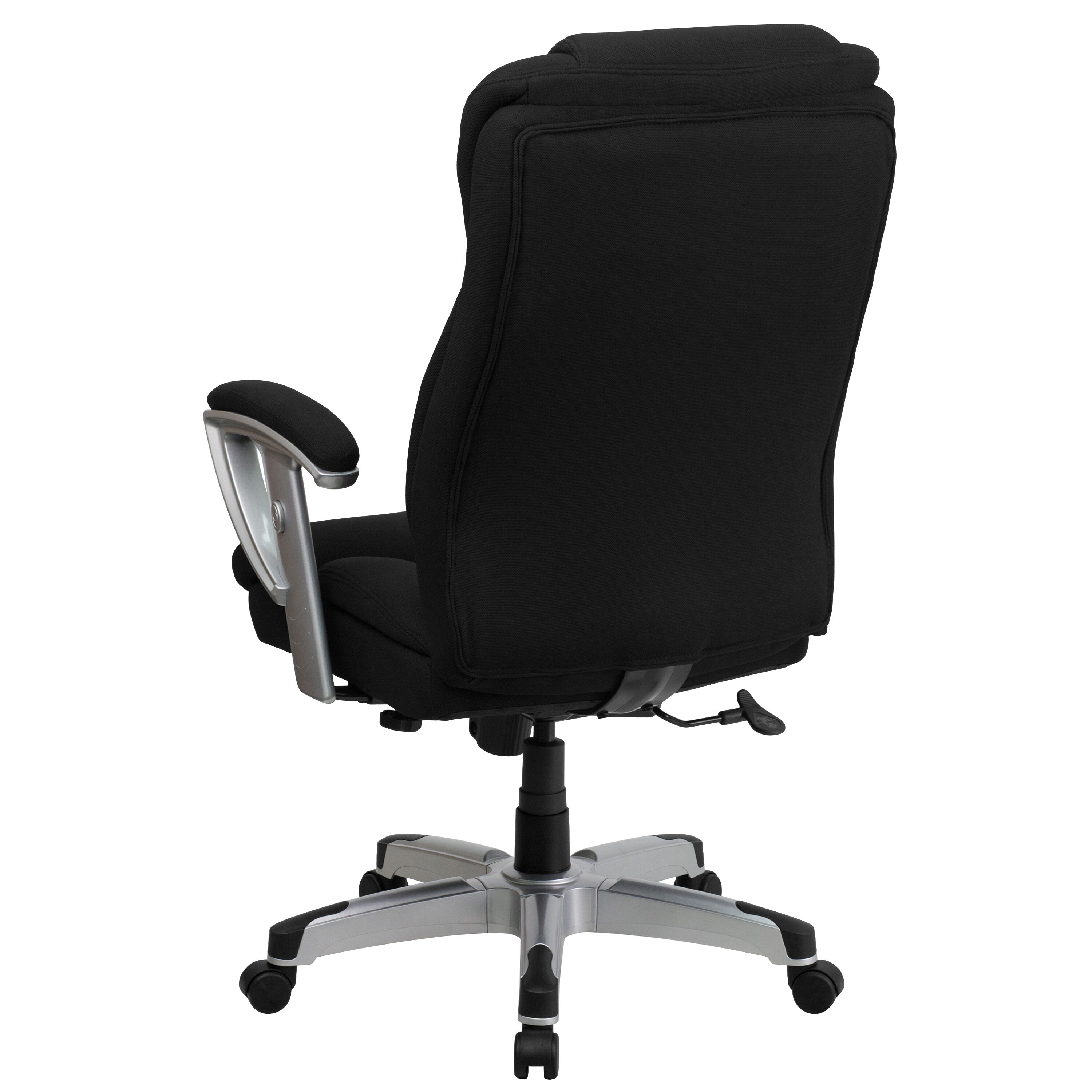 Ordinaire ... Our HERCULES Series Big U0026 Tall 400 Lb. Rated Black Fabric Executive Swivel  Chair With ...