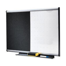 Quartet Combination Board - Mounting System withDry -erase Markers -3