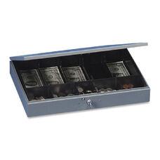 Mmf Industries Heavy Gauge Steel Cash Box withTray