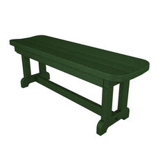 POLYWOOD® Commercial Collection Park Backless Bench - Green