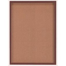 1 Door Souvenir and Memorabilia Display Case with Walnut Finish - 36