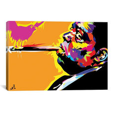 The Notorious B.I.G. by TECHNODROME1 Gallery Wrapped Canvas Artwork - 40