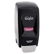 GOJO® Bag-In-Box Liquid Soap Dispenser 800-ml - 5 3/4w x 5 1/2d x 11 1/8h - Black