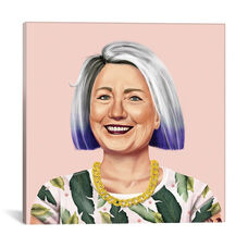Hillary Clinton by Amit Shimoni Gallery Wrapped Canvas Artwork