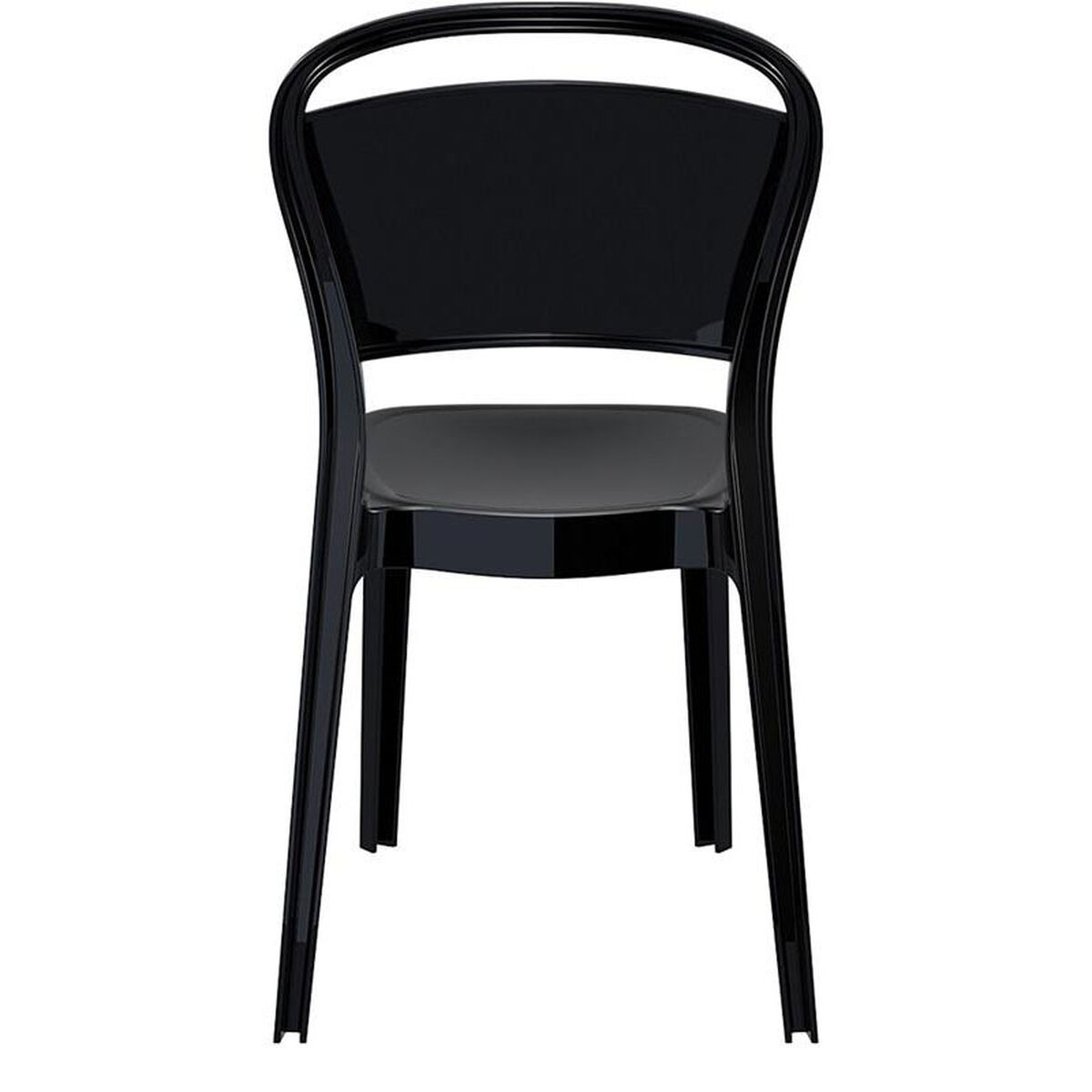polycarbonate furniture. Our Bo Modern Polycarbonate Dining Chair - Glossy Black Is On Sale Now. Furniture I