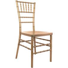 Advantage Gold Resin Chiavari Chair