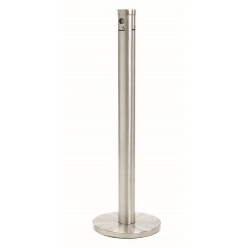 Our Floor Standing Aluminum Cigarette Receptacle - Satin Finish is on sale now.