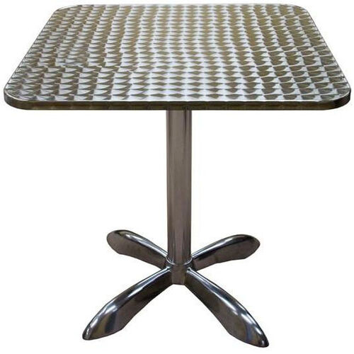 Our Square Aluminum Indoor Table is on sale now.