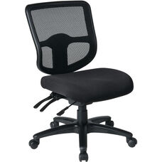 Pro-Line II ProGrid® Ergonomic Task Chair with ProGrid Mesh Back and Dual Function Control - Black