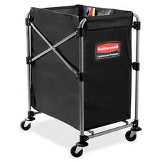 Rubbermaid Commercial Products 4-Bushel Collapsible X-Cart - 20.3