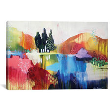 Mountian Sound by Clair Bremner Gallery Wrapped Canvas Artwork