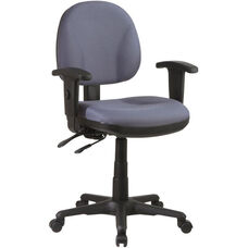 Work Smart Ergonomic Managers Chair - Black
