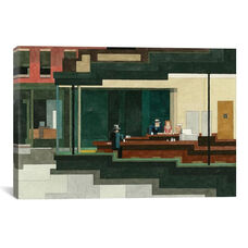Nighthawks #1 by Adam Lister Gallery Wrapped Canvas Artwork