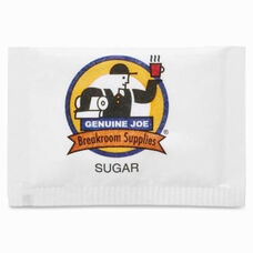 Genuine Joe Sugar Packets - 1200 per pack - White