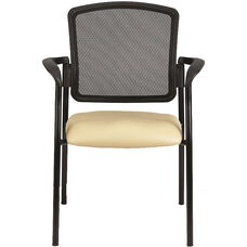 Dakota2 Stack Chair 25.5'' W x 23.5'' D x 35.5'' H with Four Legged Base - Healthcare Fabrix