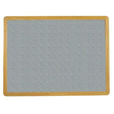 2700 Series Tackboard with Flat Wood Face Frame - Claridge Cork - 96