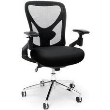 Stratus 24-Hour Big & Tall Mesh Chair - Black
