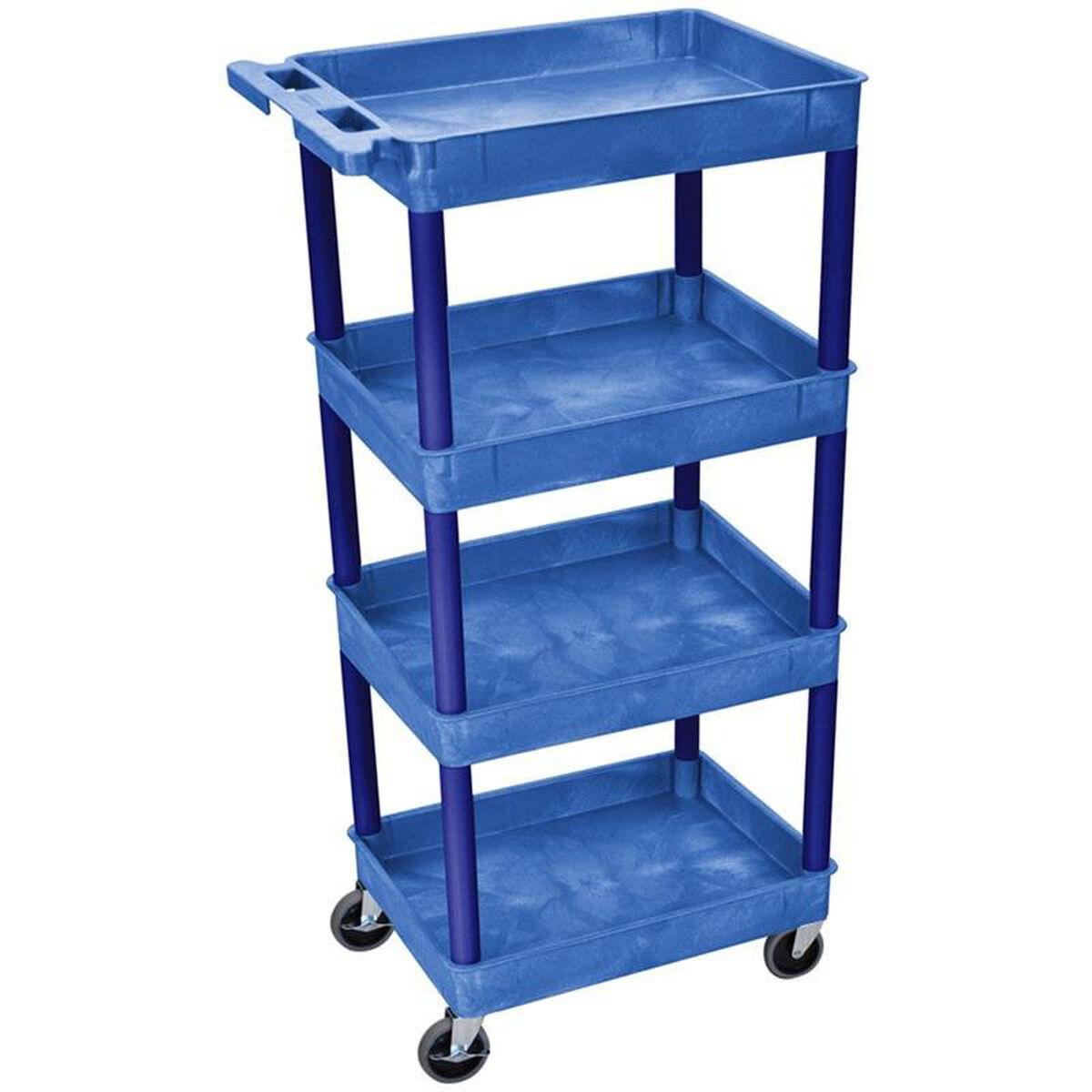 Multi Purpose Blue Tub Cart BUSTC1111BU   RestaurantFurniture4Less.com