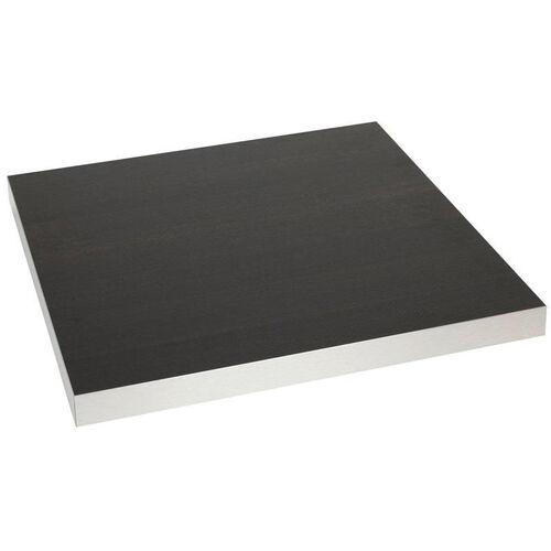 Square Table Top Melamine Marco 30x30 Wenge Alu