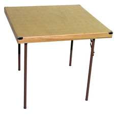 Caterer Elite Series Large Card Table with Non Marring Floor Glides - 36