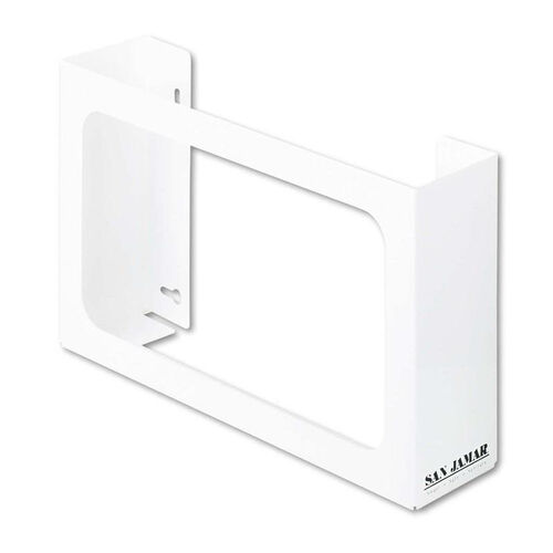 Our San Jamar® White Enamel Disposable Glove Dispenser - Three-Box - 18w x 3 3/4d x 10h is on sale now.