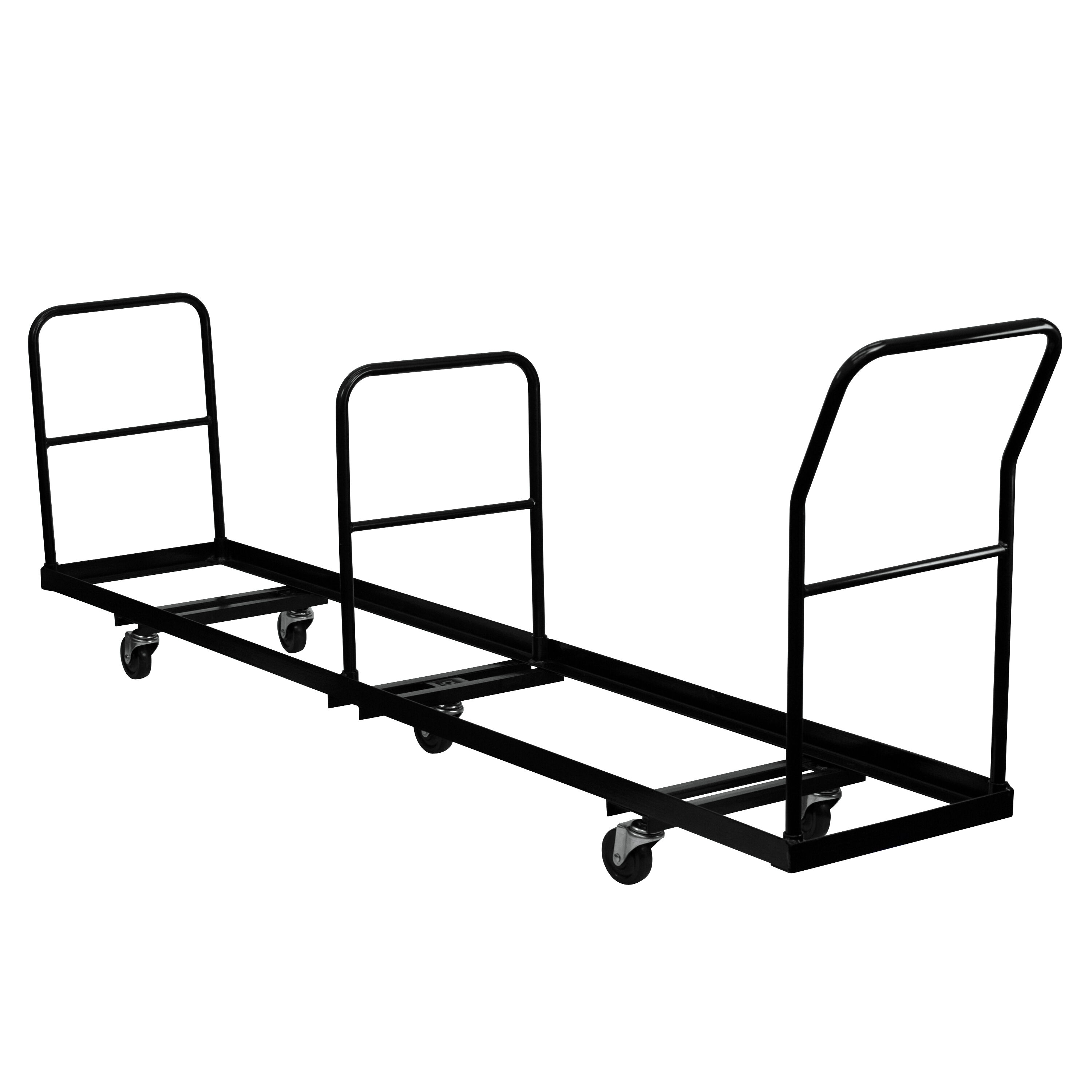 ... Our Vertical Storage Folding Chair Dolly   50 Chair Capacity Is On Sale  Now.