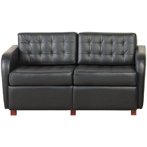 Quick Ship Himalaya Loveseat with Wood Legs