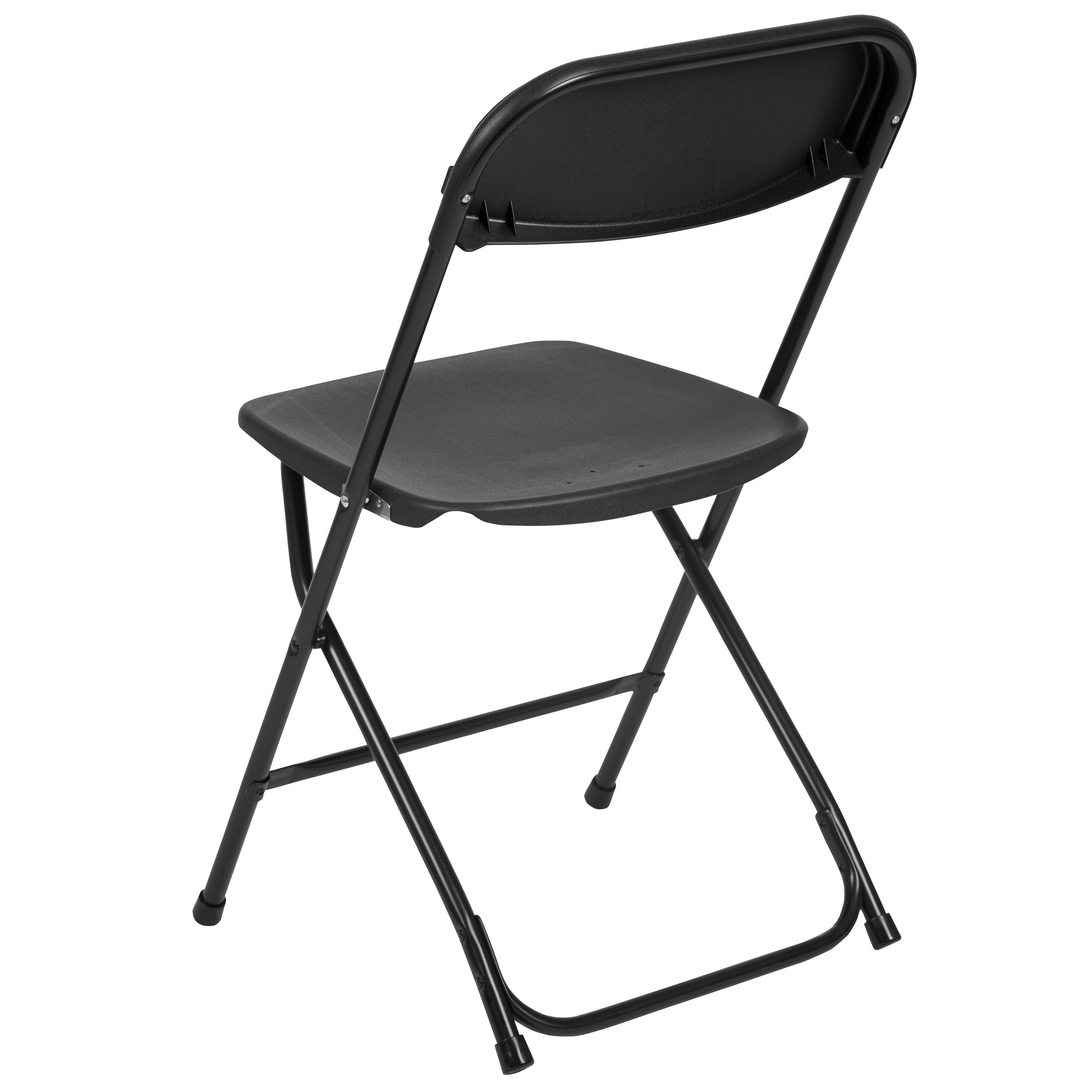 Capacity Premium Black Plastic Folding Chair Is On Sale Now ...