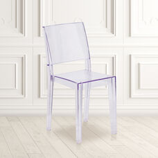Phantom Series Transparent Stacking Side Chair