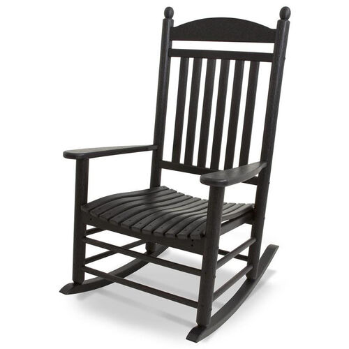 POLYWOOD® Jefferson Rocker - Black