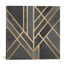 Art Deco Geometry I by Elisabeth Fredriksson Gallery Wrapped Canvas Artwork