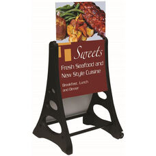 Roll A-Frame Double Sided Sidewalk Sign with Poster Holder