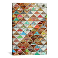 Love Pattern by Diego Tirigall Gallery Wrapped Canvas Artwork - 18