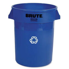 Rubbermaid Commercial Products Heavy-Duty Recycling Container - 22